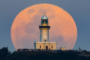 Moon-Cape Byron Moonrise ASI183-600mm