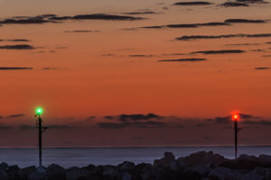 Moon-Kingscliff Moonrise