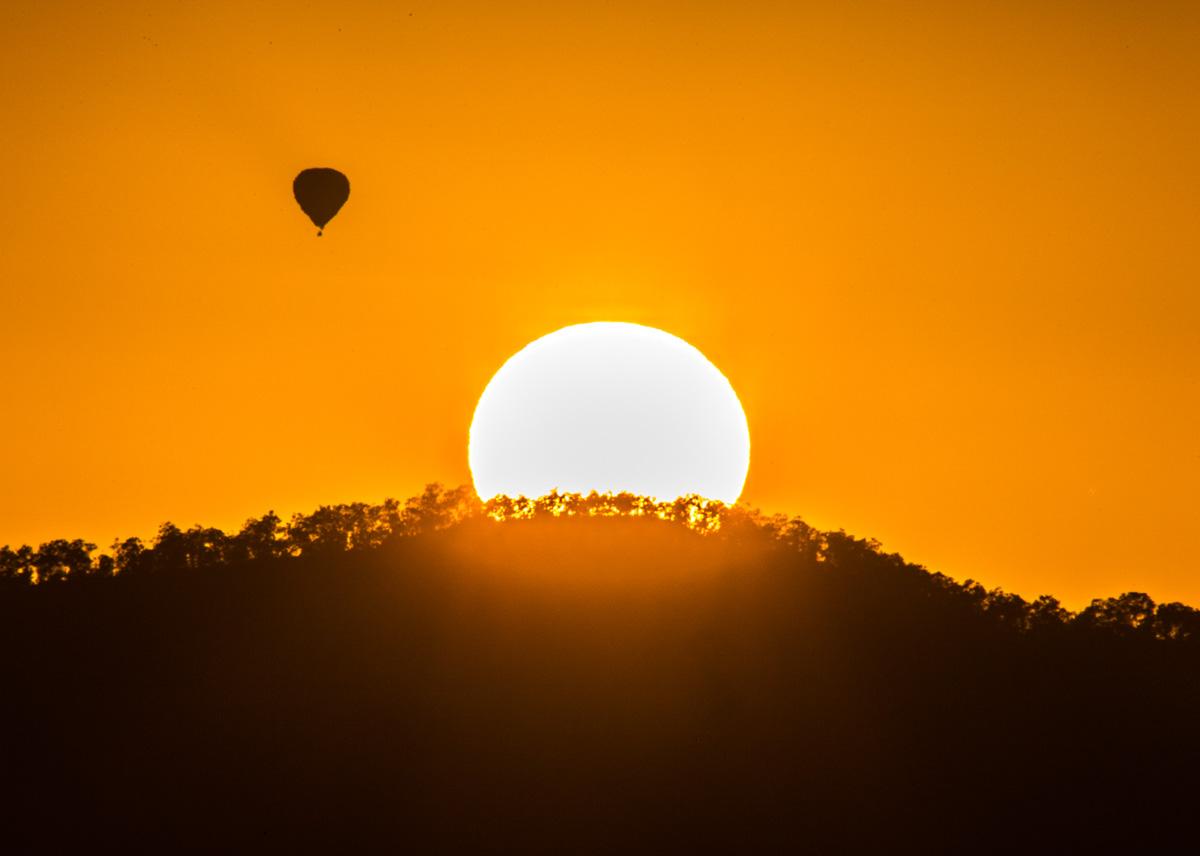 Sun-Beaudesert Balloon Sunrise