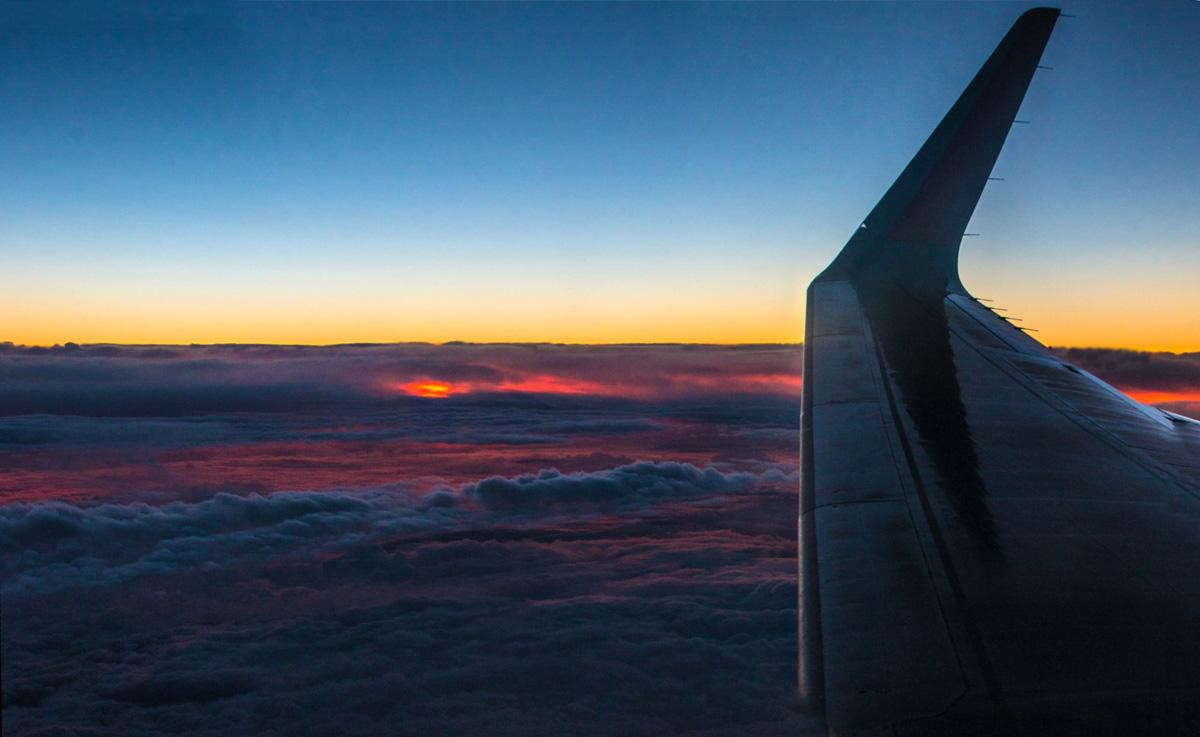 Sun-Plane Sunset 1