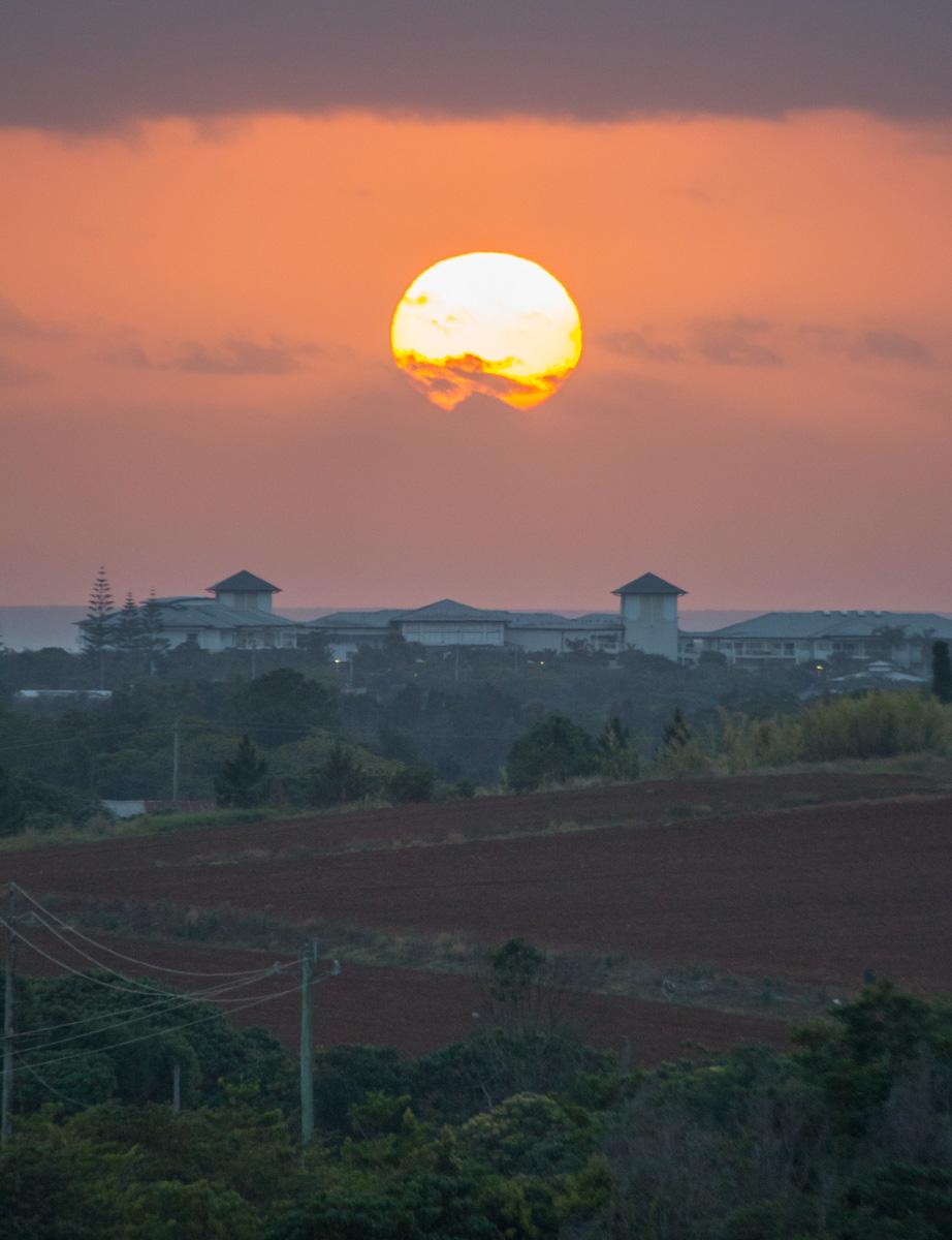 Sun-Salt Sunrise