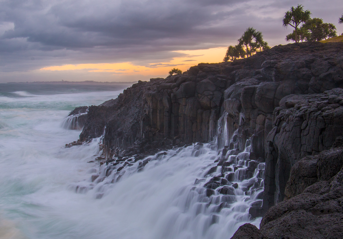 Water-Fingal Surf Waterfall 1