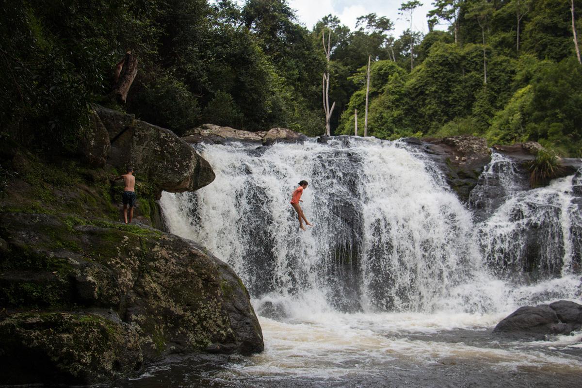 Water-Whian Whian Falls